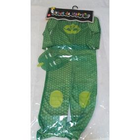 Disfraz De Heroes En Pijamas Verde Gekko Nuevo!!!!!