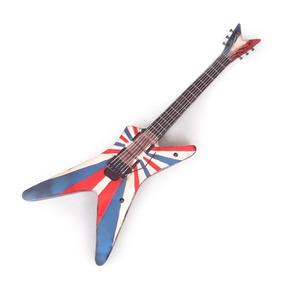 Guitarra Decorativa De Parede England Em Metal - 90x S/juros