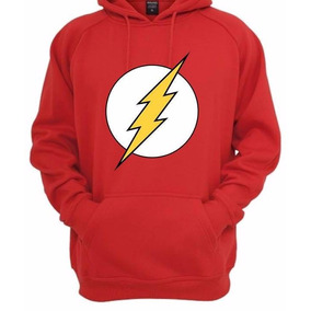 Blusa De Frio Moletom The Flash Canguru Batman Superman