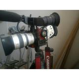 Filmadora Dv Canon Xl1 + Filtros+grande Angular+tripe+case