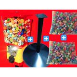 Maquina+500bolinhas Pula-pula+pedestal/ Kit Completo S/juros