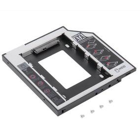 Bahía Laptop Cd-rom Caddy 9.5mm Sata A Sata Para 2do Hdd