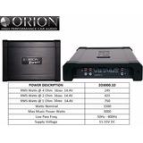 Amplificador Orion Serie Ztreet Modelo Zo3000.1d
