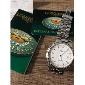 2a7a570381a Relogio Longines A Quartz - Relógios no Mercado Livre Brasil