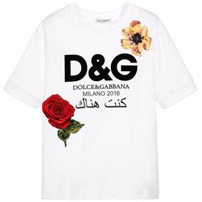 Remera Dolce & Gabbana Estampa