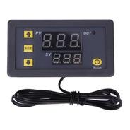 W3230 Termostato Digital 12v 20a Display, Alarme Aquecimento