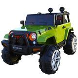 Camioneta A Bateria Jeep Para Niños Con Motores Y Mecedor