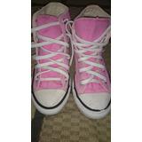 Tenis Niña Converse Color Rosa Pastel Talla 18mx, 12us