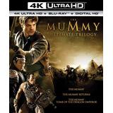 The Mummy Ultimate Trilogy 4k Ultra Hd + Blu-ray Nuevo Imp.