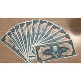 Lote Cédulas Notas Dinheiro Antigo Veja Fotos