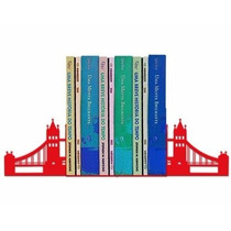 Suporte Aparador De Livros Dvd Cd Ponte De Londres - Luxo