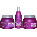 Forever Liss Platinum Blond 250ml - Kit Loiras Poderosas