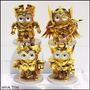 Minion Pvc Saint Seiya Gold 4 Pzas. Envio Gratis!