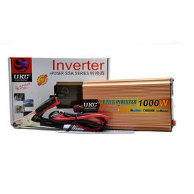 Inversor Conversor Ukc - 12v - 220vac 1000w