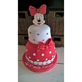 Torta Artesanal Minnie ,mickey, Mickey Bebe Zonasur