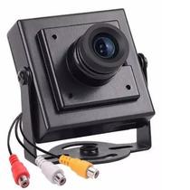 Mini Câmera De Segurança Ccd Color Com Áudio Cftv ( Kare)