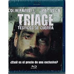 Triage Testigos De Guerra Blu-ray Nueva