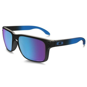 Óculos De Sol Oakley Holbrook Saphire Fade   Prizm Polarizad e54ec7407c