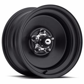 Jogo De Rodas Us Wheel Rat Rod - 15x6 E 15x10