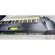 Teclado Roland Xp-60 Estava No Mostruario Da Loja