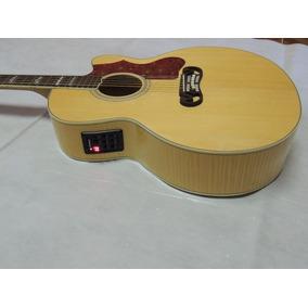 Violão Gibson J200 Deluxe Maciço *cn* Frete Gratis