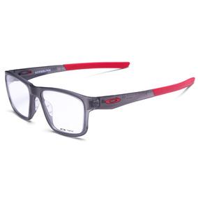 Armação De Grau Oakley Ox8078l Hyperlink - Cinza vermelho e86f9a6074