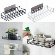 Porta Shampoo Sabonete Suporte De Parede Banheiro Cozinha