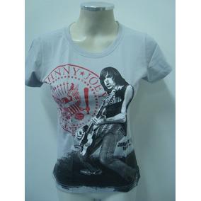 Baby Look Feminina - Ramones - Johnny Ramone