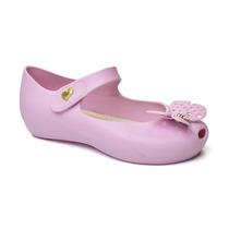 Peep Toe Infantil Confeti World Colors 017047-1186 - Rosa