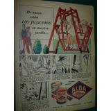 Publicidad Antigua Clipping Pinturas Alba Los Jilgueros Lata