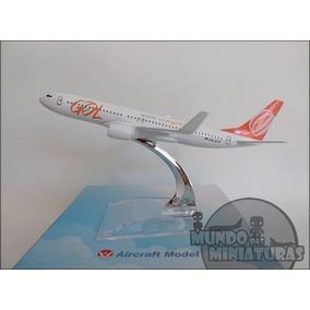 Avião Miniatura - Boeing 737-800 Gol - Em Metal - Promoção