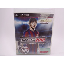 Video Game Play Station Network Pes 2010 Pro Evolution Socce