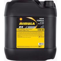 Balde Óleo Rimula Rt 4x 20 Litros 15w40 Gasolina Diesel