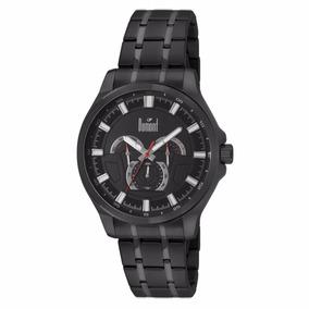 Relógio Masculino Preto Dumont Multifunçao Du6p29abq/3p