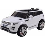 Carro A Batería Baby Kits Modelo Land Rover Blanco