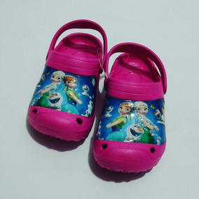 Cholas Crocs Para Niñas De Princesas Disney Original