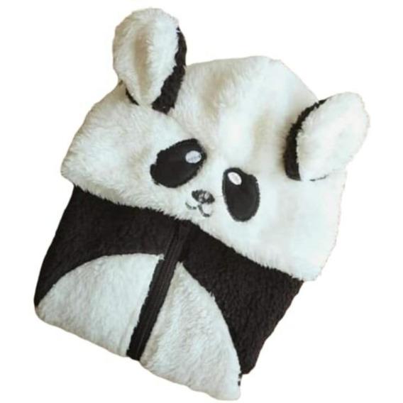 Pijama Enterito Bebe Panda - De 1 A 18 Meses (talle 1 Al 5)