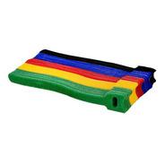 Kit Organizador Cabos Fios Eletrônicos Velcro Abraçadeira