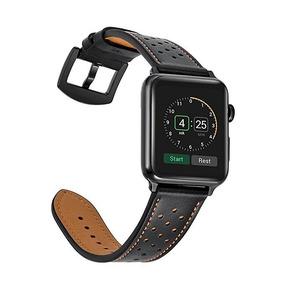 9e71e83eb37 Pulseira Apple Watch Couro Ou Metal Com Detalhes (leia)
