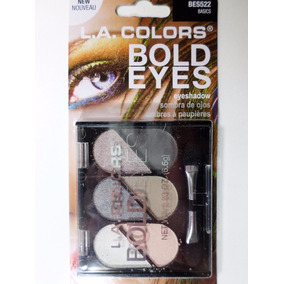 Paleta De 6 Sombras L.a. Colors Original Tonos Audaces
