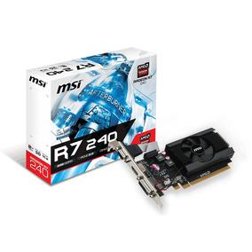 Placa De Video 2gb R7 240 Msi Ddr3 64bits Lp- Comeros Compu