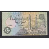 Billete De Egipto 50 Piastras Años 2000 Nuevo Unc (c85)