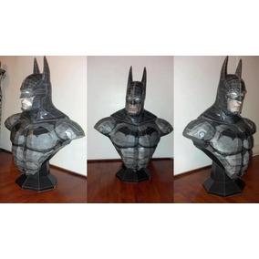 Molde Para Imprimir E Montar Do Busto Do Batman Arkham!!!