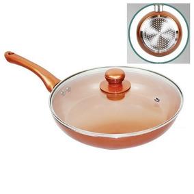 Frigideira 24 Cm Antiaderente Ceramica Titanio Titanium