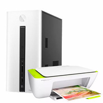 Pc Hp Pavilion 550 I3 4gb 1tb Wifi 3.0 Bt W10 + Impresora Hp