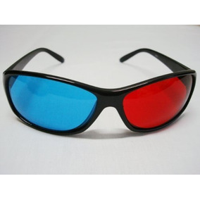 / Cian Anaglifo Estilo Simple Rojo-azul Película En 3d Gafa