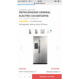 Refrigerador General Electric Sbs 719 Lts