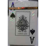 Baraja Poker 100% Plástico, Calidad Casino *royal* Original
