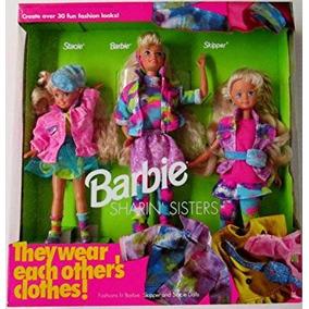 Juguete Barbie Sharin Hermanas Gift Set Barbie Stacie Skipp