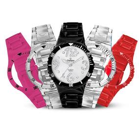 f3b74db2bce Relógio Champion Multipulseiras Crystal Strass Cp30182r - Joias e ...